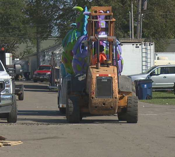 Even though the Canfield Fair is over, there is still a lot of work to be done. On Tuesday, people were cleaning up and moving on to the next event.