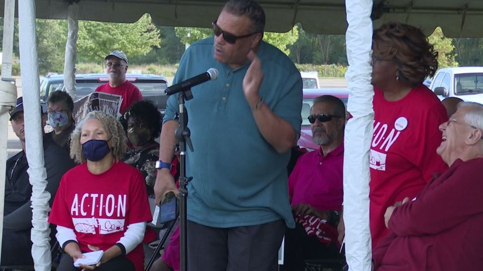 There was a public forum to address the violence in Youngstown at Wean Park on Sunday.