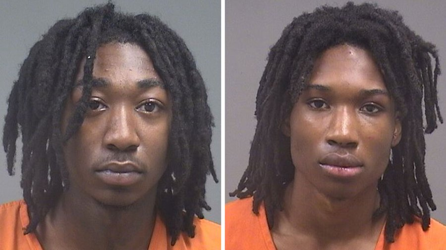 Deandre and Larry Smith, suspects in police chase, Poland/Strutherss