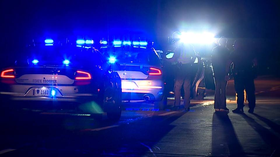 A two-car accident blocked two lanes on East Midlothian Avenue in Youngstown Saturday night.