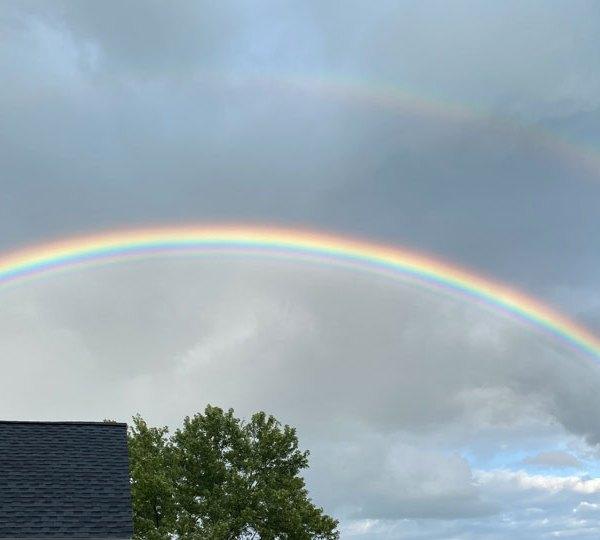 Guilford Lake rainbow, Hiward