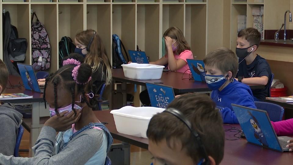Hubbard Elementary School Chromebooks