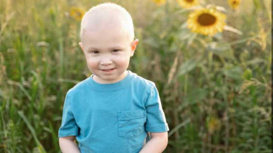 Joey Gaskell fighting cancer a second time.