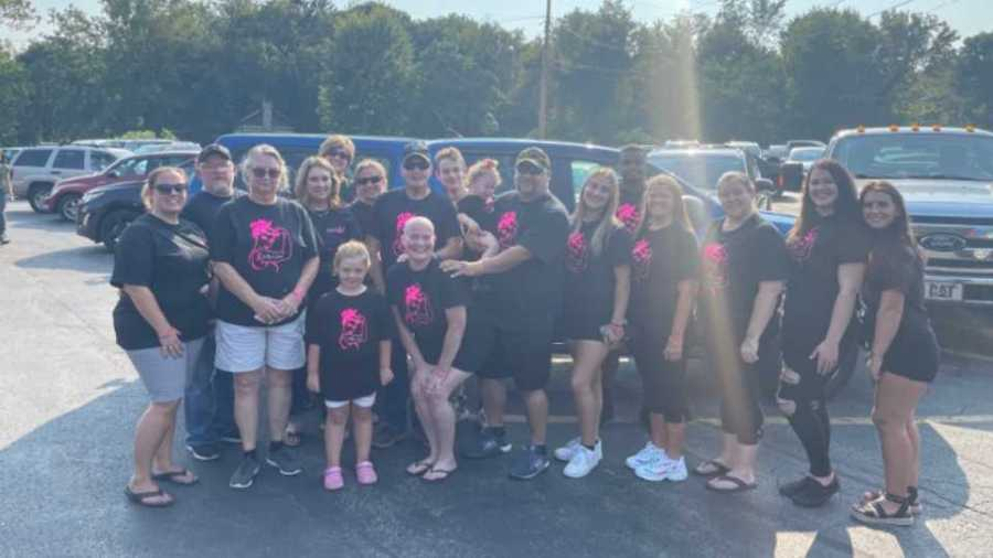 Kelly's Krew for Kelly Radu of Hermitage who battles against cancer for the fourth time.