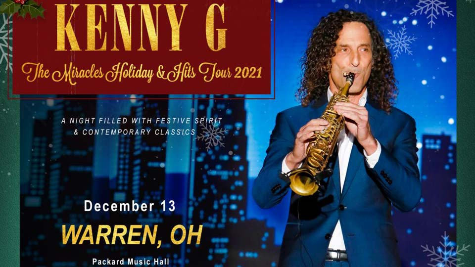 Kenny G, Packard Music Hall