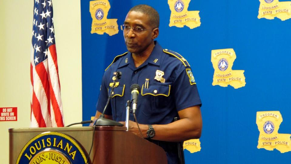 Louisiana State Police leader Col. Lamar Davis