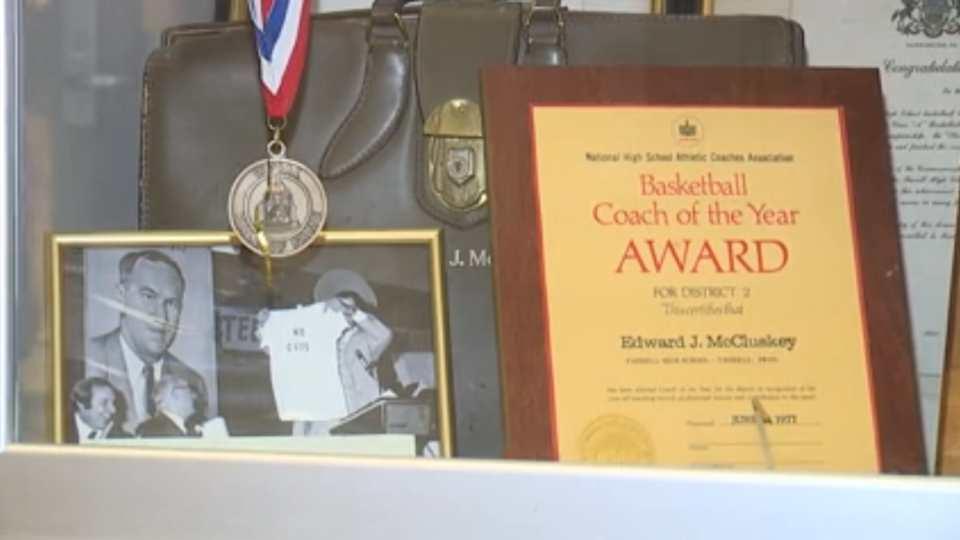 Farrell High School Ed McCluskey awards