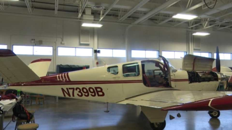 The Mahoning Count Career and Technical Center's Aviation Maintenance Program got a new plane last week and Board President Michael Stanko played a big role in getting it there.