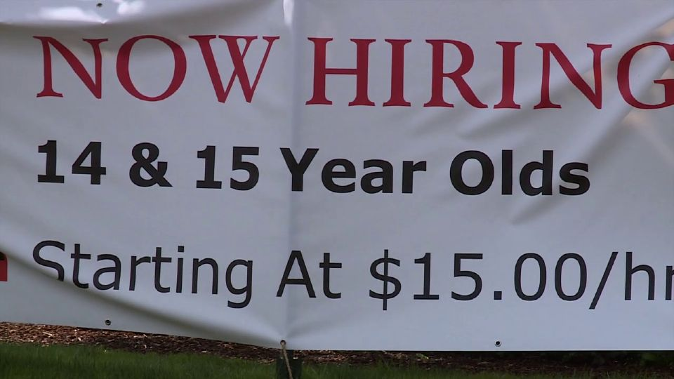 McDonalds is hiring 14 and 15-year-olds