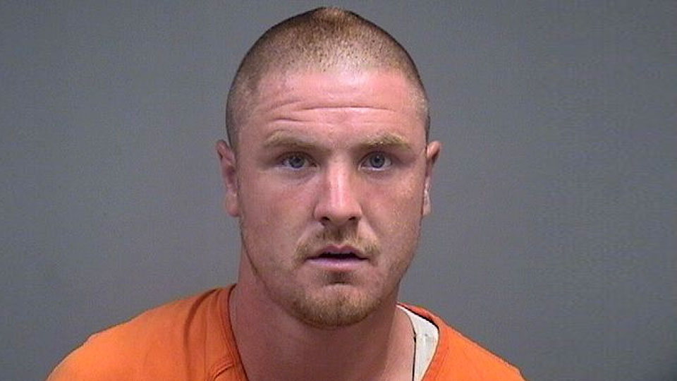 Michael Burkholder, charged with aggravated burglary in Youngstown.