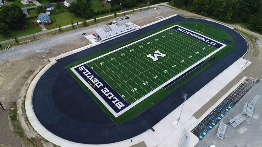 New McDonald High School Football Stadium (1)