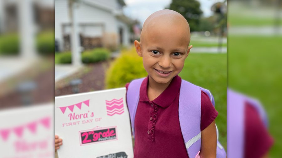 Nora Sabella fighting cancer a second time.