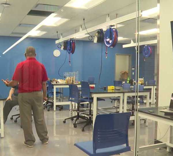 Students at the Penn State Shenango campus now have a whole new learning experience. The Forker Laboratory was recently renovated.