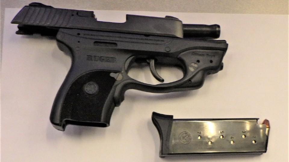 Pittsburgh airport gun