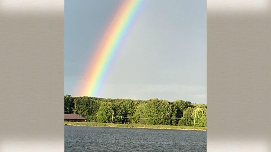 Ros, Guilford Lake rainbow