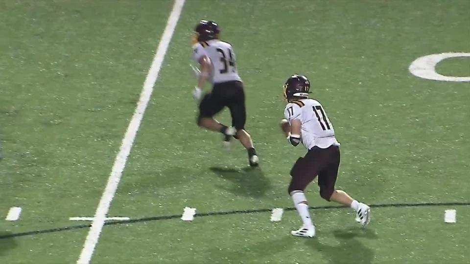 South Range touchdown