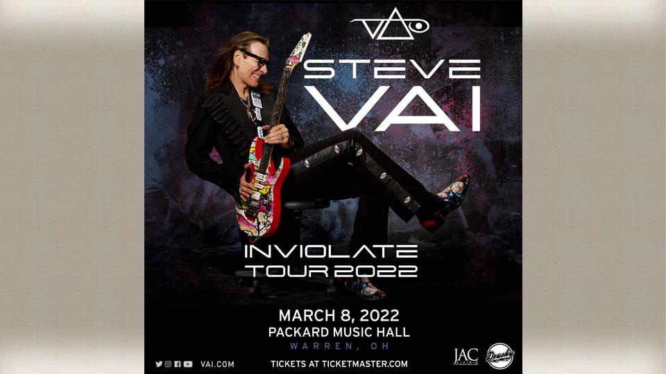 Steve Vai: Inviolate Tour, Packard Music Hall