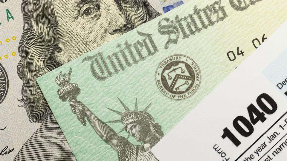 United States Treasury, IRS, Tax refund, generic