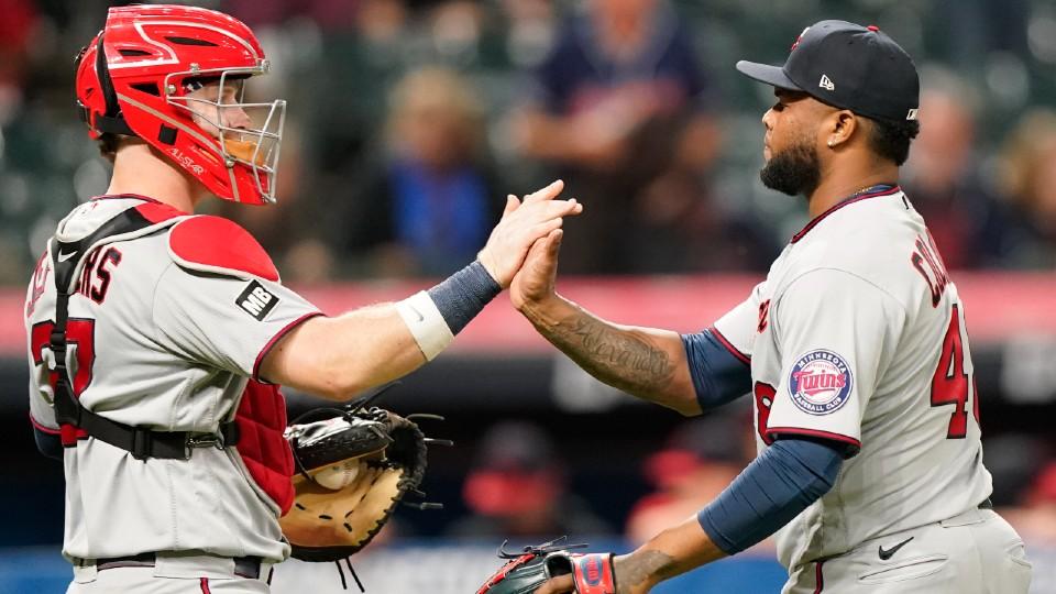 Twins vs. Indians baseball