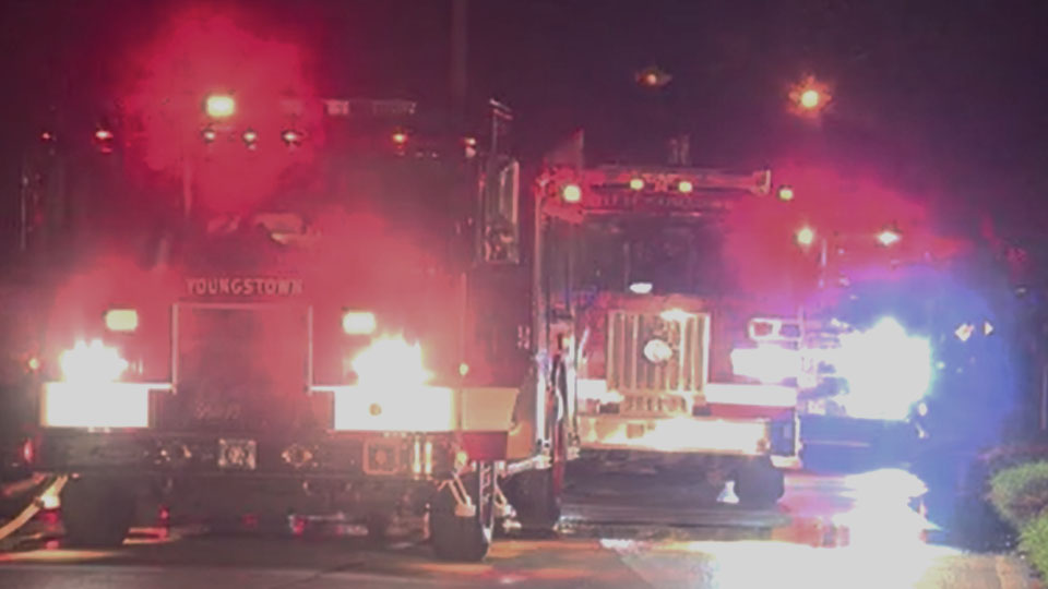 Arson investigator looking into garage fire, officials say