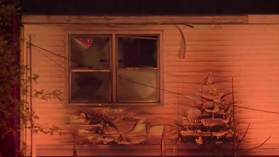 Children sent to hospital after duplex fire, expected to be OK