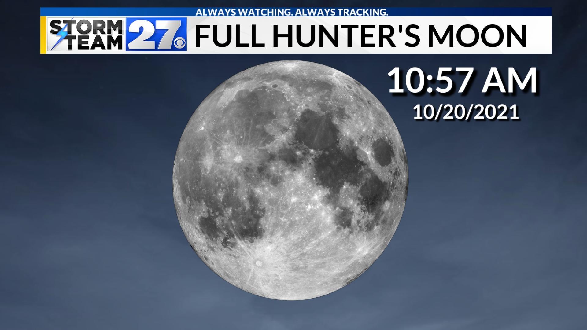 The Full Hunter's Moon