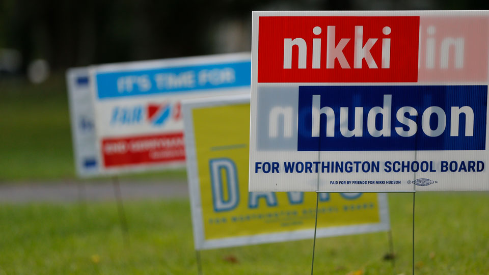 Ohio school boards emerge as hot races in November election