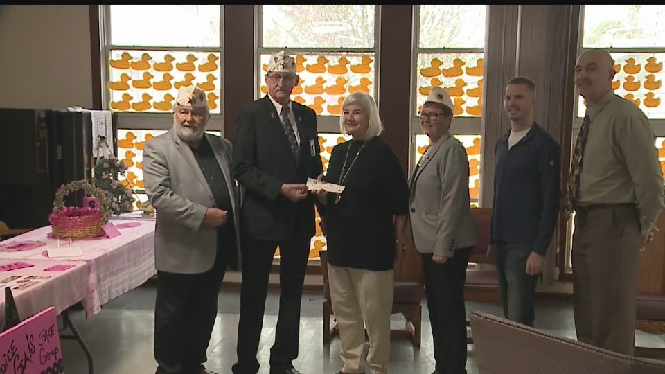 AMVETS donation to Heritage Accord