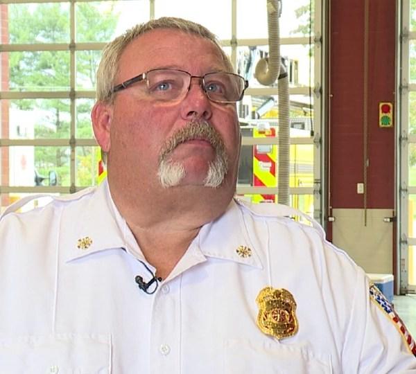 Bazetta Fire Department Chief Dennis Lewis