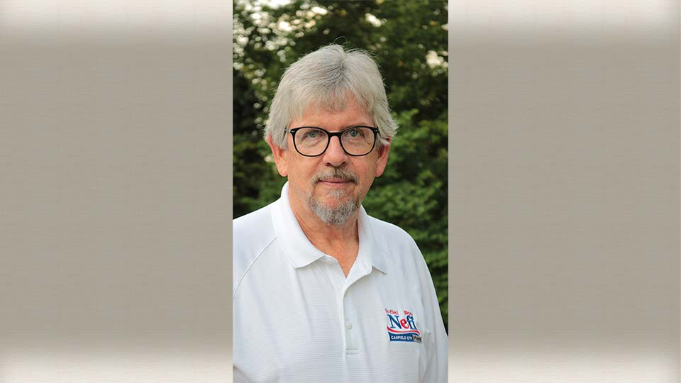 Bruce Neff is running for Canfield City Mayor.