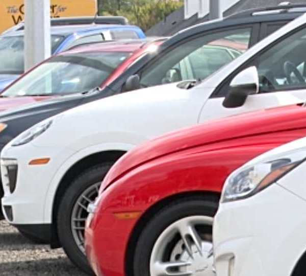 Car sales have been down between new and used from this September compared to September 2020. It's down close to 600 total sales.