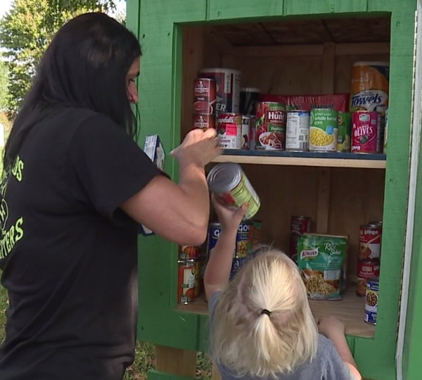 The Country Kids and Kritters 4-H group has installed two community cupboards.