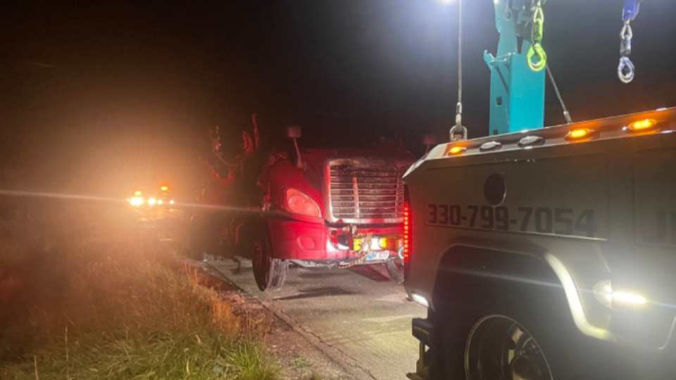 A portion of Interstate 76 is currently closed due to a crash Tuesday night.