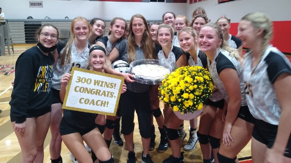Crestview coach Alisha Auer 300th win