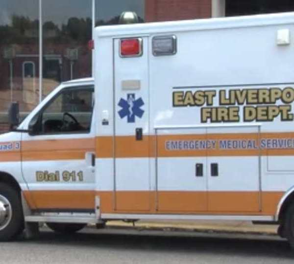 In the past, East Liverpool had to rely on outside, private companies for an ambulance. After being given two used ambulances, they are in the process of getting a new one.