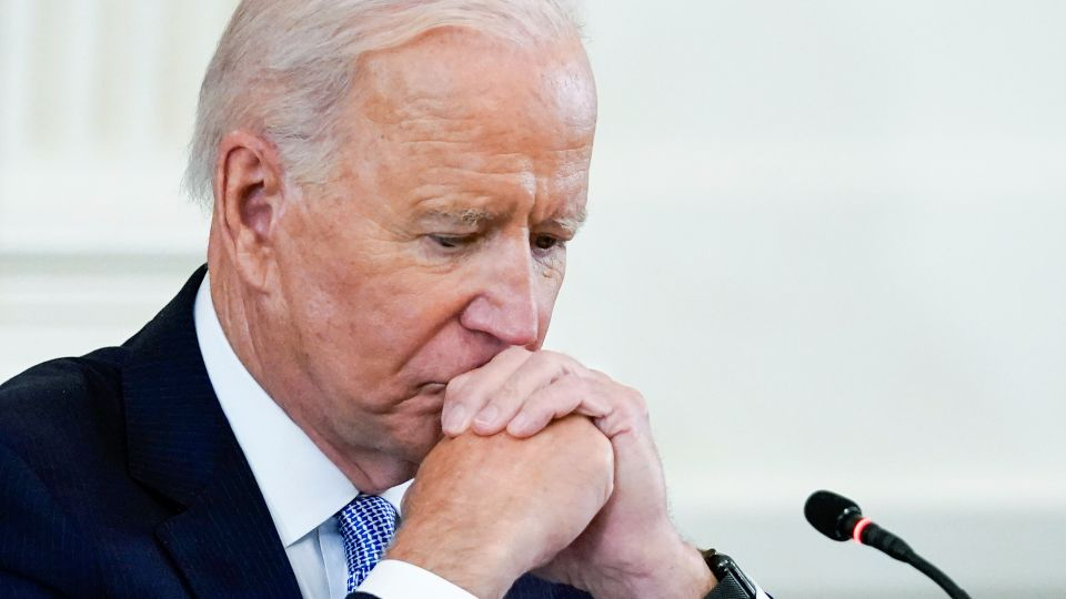 President Joe Biden's popularity has slumped after a slew of challenges in recent weeks at home and abroad for the leader who pledged to bring the country together and restore competence in government, according to a new poll by The Associated Press-NORC Center for Public Affairs Research.