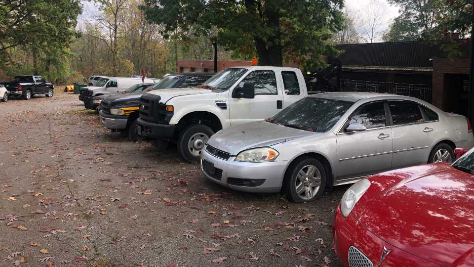 Mahoning County is auctioning off its surplus vehicles and equipment.