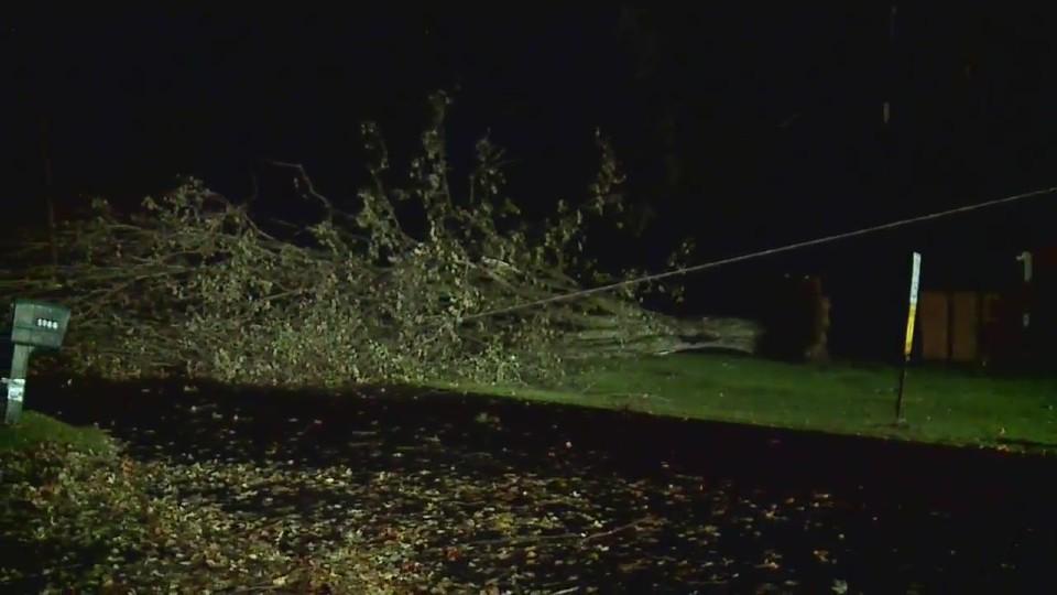 Mecca Township storm damage