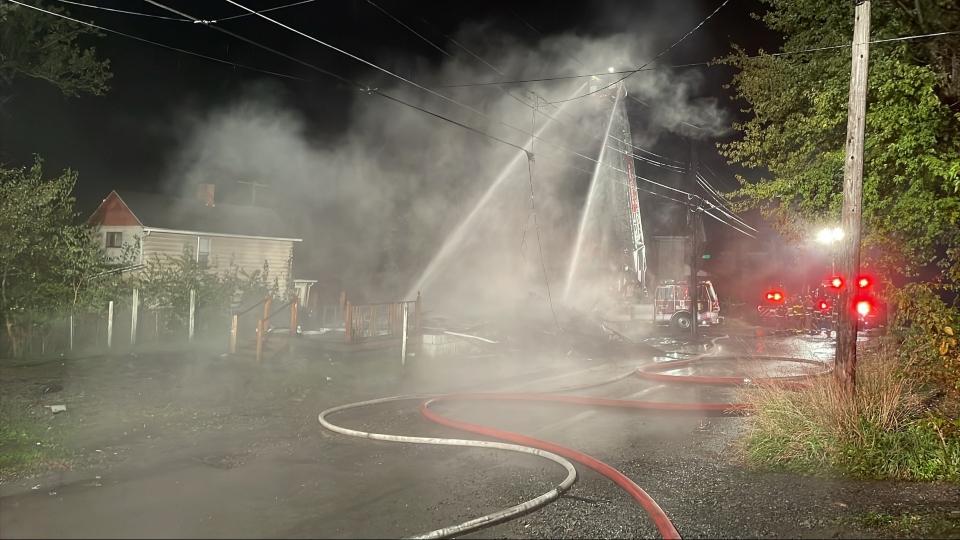 New Castle house fire