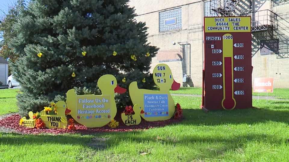 A Newton Falls-based nonprofit is still selling ducks for their Pluck-a-Duck fundraiser benefitting the community center.