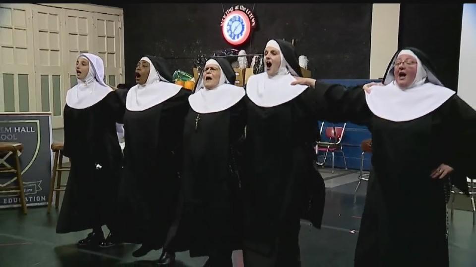 Nunsense cast, East Street Productions