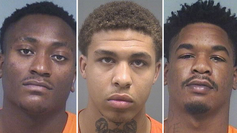 James Phillips, Kiele Jones and Daniel Turner are all facing weapons charges out of Youngstown.