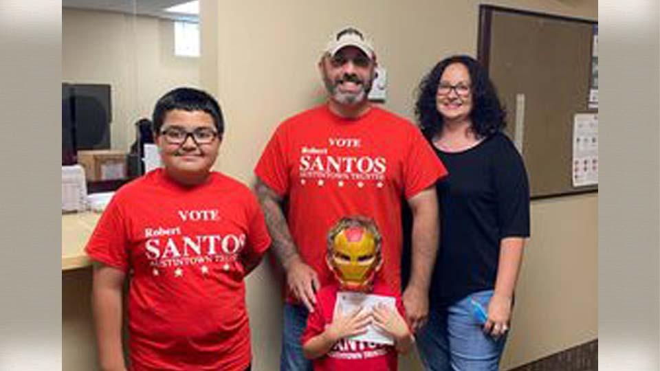 Robert Santos is running for Austintown Township trustee.