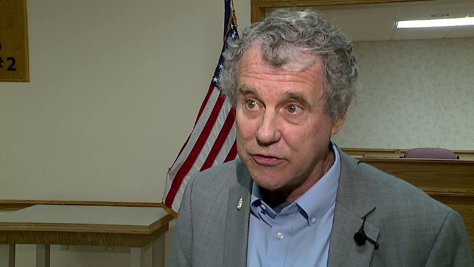 Senator Sherrod Brown, D-Ohio, said Friday that the Biden Administration is taking the right steps to ease the nation's supply-chain crisis, but added that American business needs to do its share, too.
