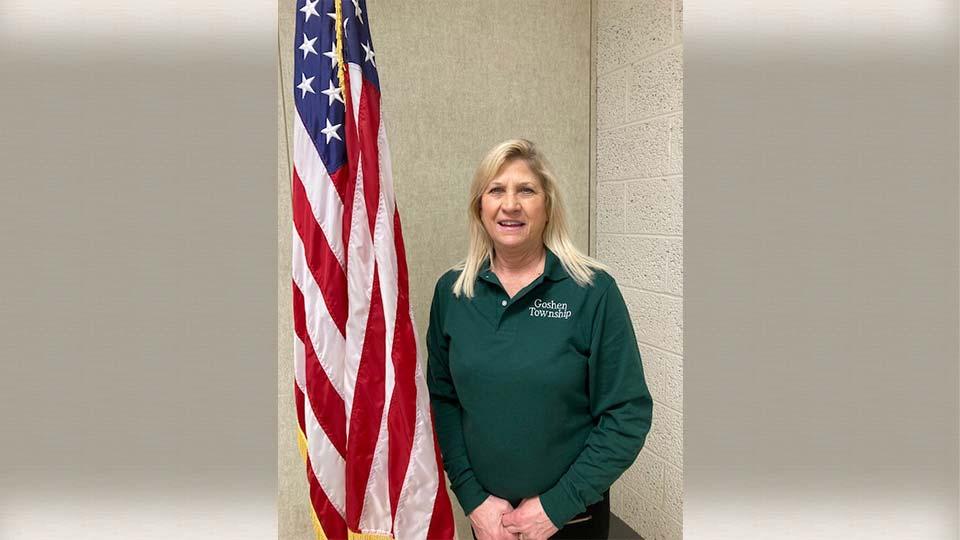 Teresa Stratton is running for Goshen Township Trustee.