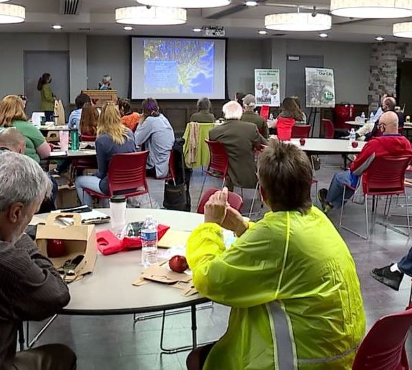 Climate warming in the Mahoning Valley was the focus of a seminar Saturday at Youngstown State University.