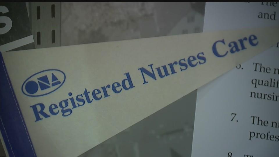 Youngstown General Duty Nurses Association exhibit